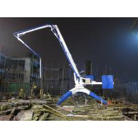 Durable Spider Concrete Placing Boom HG21 22MPa Hydraulic System Pressure