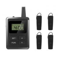 Buy cheap Long Distance Tour Guide Receiver , E8 Ear Hanging Travel Tour Guide System from wholesalers