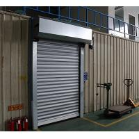 Durable Curtain Automatic Roller Door / Roll Up Garage