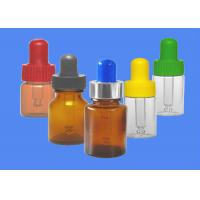 Buy cheap Chemical / Cosmetic Glass Dropper Bottles , 20ml Glass Bottle With Eyedropper from wholesalers