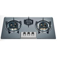 Buy cheap Big Fire Bulit In Three Burner Gas Stove Enamel Pan Support 710 * 400mm product