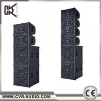 China CVR active 12 inch line array & powered 21 inch subwoofer system W-3P&W-21P on sale
