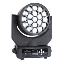 Buy cheap 19x12w RGBW 4in1 Hawkeye Small Bee Eyes LED Moving Head Beam Light product
