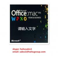 Buy cheap Office 2011 Home And Business MAC FPP Key For Microsoft Office Product Key Codes Online Activation product