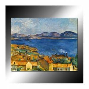 Buy cheap A baía de Marselha, vista da pintura a óleo de L'Estaque por Paul Cézanne product