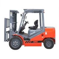 Buy cheap 3000kgs Loading Capacity Diesel Powered Forklift 2682 * 2090 * 1225mm product