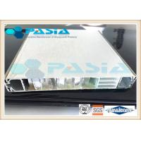 Buy cheap Signage Use Honeycomb Composite Panels With The Surface Reflective Film Coated product