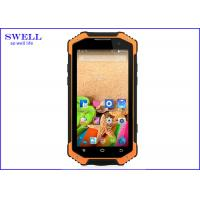 Buy cheap F19 4G LTE Rugged Handheld Computer Android 4.7 Inch MTK6592 NFC walkie talkie product