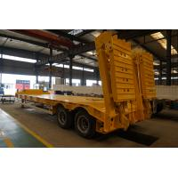 China Titan 2 axle 80 tons low loader trailer ,semi lowbed trailer for sale South Africa , Lowbed Trucks Vehicle on sale
