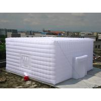 Buy cheap Light Oxford Fabric Inflatable Event Tent Both For Temparorily And Permenant Use product