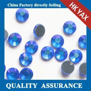 Buy cheap 0603C Flat back round hot fix strass DMC, strass DMC hot fix, hot fix strass for garment product