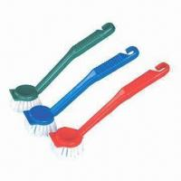 Buy cheap Cleaning Brushes, Made of Nylon Filament, PP and Hair product