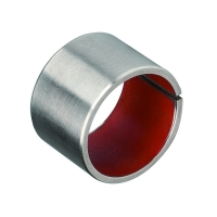 Buy cheap PTFE Coated Composite Material Self Lubricating Plain Bearing product