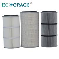 Buy cheap Performance Industrial Cyclone Dust Collector Filter Cartridge / Silo Vent Filter product