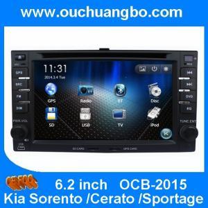 Buy cheap Ouchuangbo Car DVD Radio Multimedia for Kia Sorento Cerato Sportage USB SD Israel map product