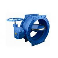 "Buy cheap 125 Lbs / 200psi Double Eccentric Butterfly Valve With Handwheel 2"" - 120"" Size product"