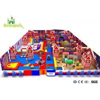Buy cheap Kids Theme Playground Equipment British Style Park / Soft Play Structures from wholesalers