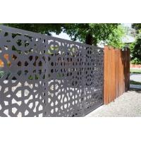 Buy cheap Villa Garden Decoration Powder Coated Laser Cut Screen Aluminum Garden Fence Panels from wholesalers