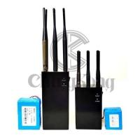 Buy cheap Portable 6 Antennas Manpack Jammer Black 177.5*76.5*36.5mm With Bigger Battery product
