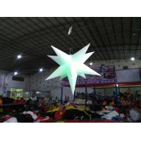 Buy cheap Inflatable star with LED light Oxford material inflatable advertising products inflatable customized adverting products product