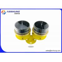 Buy cheap Standby Solar Aviation Obstruction Light , Low - Intensity Double Solar Airfield Lighting from wholesalers