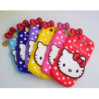 China lovely hello kitty silicon Case For iPhone 4 5s 6s plus SAMSUNG galaxy S6 S7 NOTE 3 5 wholesale