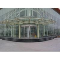 Buy cheap Arc shape Automatic Curved Sliding Door OF Unique Aluminum Track design product