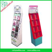 Buy cheap Pop Cheap Custom printed Promotion Rack Supermarket advertising shelf Cardboard DVD CD display stand with pockets product