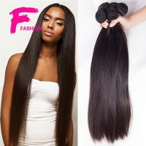 Buy cheap ブラジルのバージンの毛のまっすぐのまっすぐな女王のヘアケア製品の加工されていない人間の毛髪の織り方 product