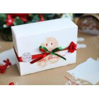 China Customized Paper Small Christmas Gift Boxes / Xmas Wrapping Boxes on sale