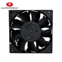 Buy cheap 6.727m3/Min 120x38mm PBT Server Cooling Fan product