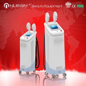 Buy cheap shr 2800w professional 2 handpiece e-light lamp 1Mhz ipl shr machine with ice-light product
