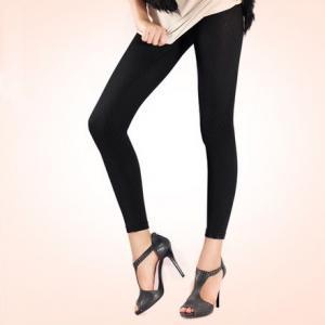 China Ladies Seamless Black Legging on sale