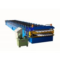 Buy cheap Wall Panel / Roofing Corrugated Sheet Roll Forming Machine 23 Forming Group product