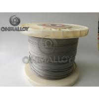 China NiCr 2080 Heating Stranded Resistance Wire NiCr A Nichrome Alloy on sale