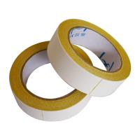 Buy cheap 350mic  thick Double Sided Carpet Tape Hot Melt Adhesive Exhibition Carpet Seaming product