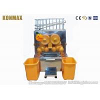 China Fresh Squeezed Orange Juice Extractor Machine Processing Types Stainless Steel on sale