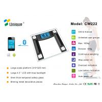 Buy cheap CW222B High Accuracy Digital Bathroom Scale with Bluetooth Connection product