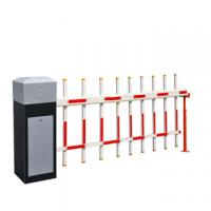 Ворота барьера стоянки руки загородок плиты холоднокатаной стали 2 для рекламы предпосылают ИП65