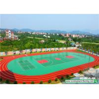 Buy cheap SSGsportsurface All Weather Resistant Running Track Mixed Basketball Court product