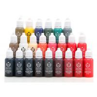 Buy cheap 23 Colors 1 / 2 OZ Cosmetic Ink Permanent Makeup Pigments Lasting Long product