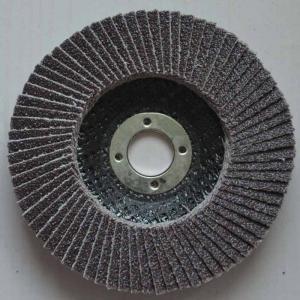 Buy cheap La haute température a fondu les disques abrasifs d'aileron d'oxyde d'aluminium coniques pour la fibre de broyeurs d'angle product