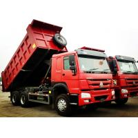 Buy cheap Sinotruk 6x4 371 Horse Power Heavy Duty Dump Truck 25 Tons HOWO Truck product