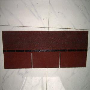 China 3-tab colorful asphalt shingle on sale