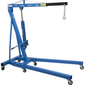 Buy cheap Single Pump 2 Ton Folding Shop Crane product