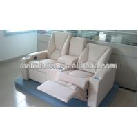 Buy cheap Cream leather lazy boy recliner chair /decoro leather sofa recliner With Writing Pad Function LS811B product