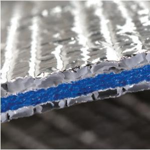 L'aluminium 6.5mm de plafonds de toit a réticulé le matériel réfléchi d'isolement de mousse de XPE de mousse d'isolation fermée d'aluminium