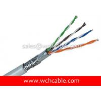 Buy cheap UL Lan Cable Cat5e SFTP Solid 24AWG 4Pairs OD5.6mm Tinned Copper Shielded product