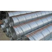 Buy cheap Spiral Concrete Corrugated Post Tension Tube / Corrugated Pipe Tube product