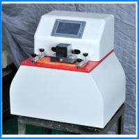 China Microcomputer Paper Testing Equipments , Fastness Ink Rub Tester wholesale